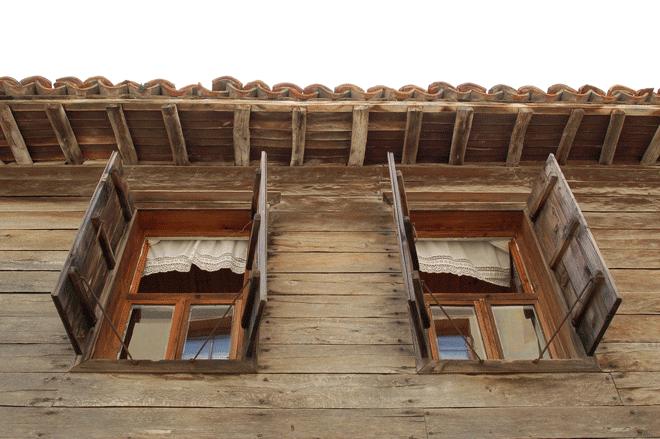 Sozopol 2015, typowa zabudowa miejska, fot. Anna Studzińska.