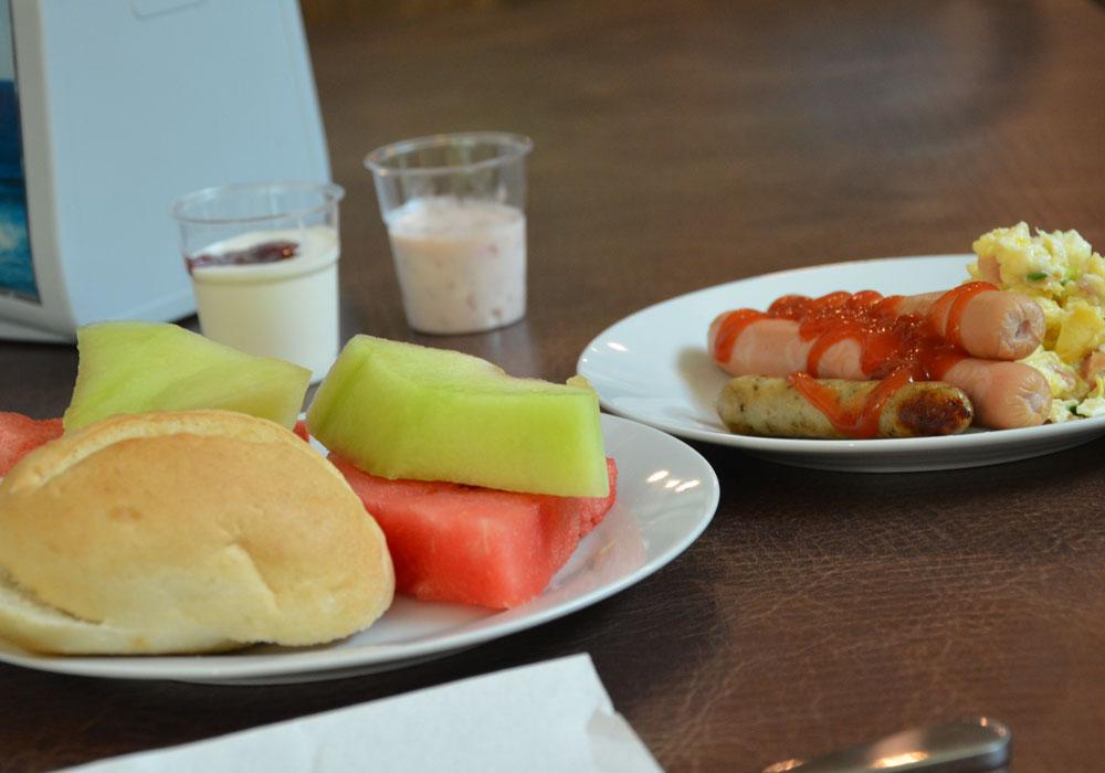 W euroHOTEL Primorsko serwujemy pyszne śniadania, fot. Anna Studzińska.