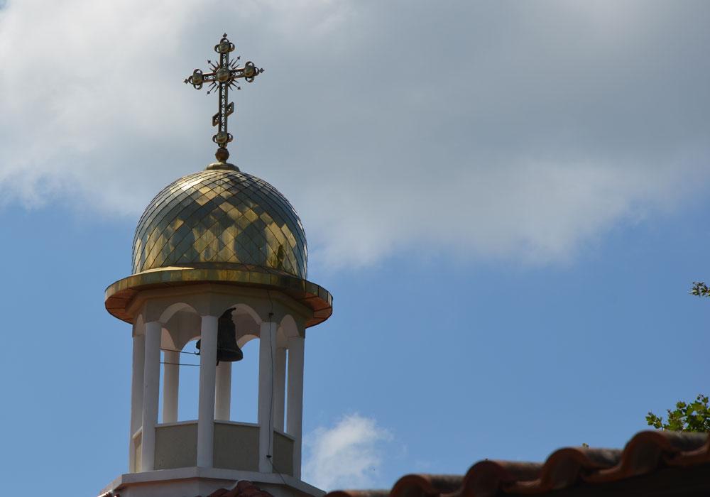 Sozopol 2015, kopuła cerkwi prawosławnej, fot. Anna Studzińska.