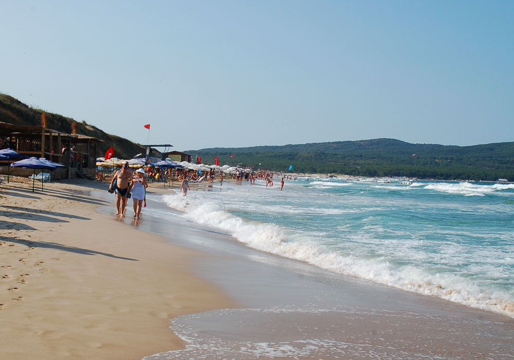 Gorące morze, piaszczyste plaże, Primorsko (North Beach) fot. A. Studzińska